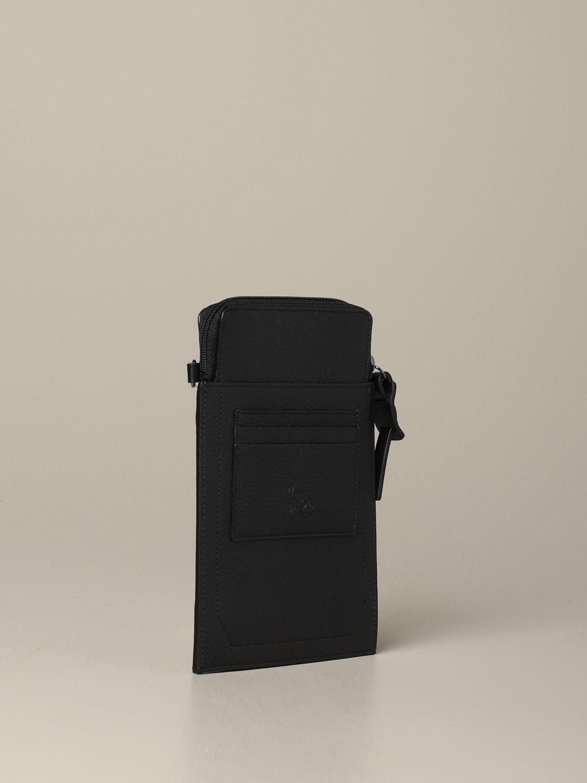 Pochette Loubi lab Christian Louboutin in pelle con borchie nero 2