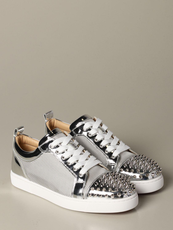 Sneakers Christian Louboutin: Shoes women Christian Louboutin silver 2