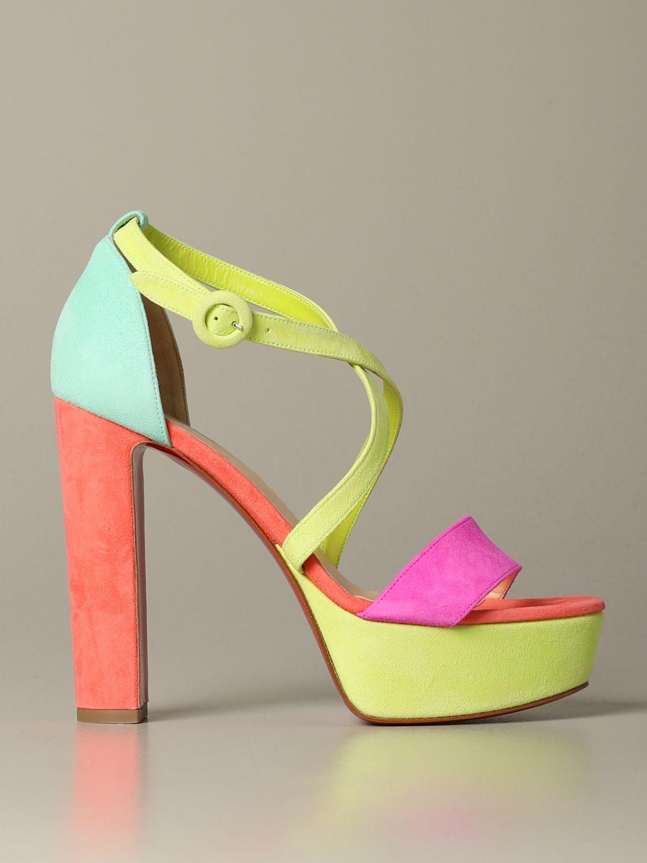 鞋 女士 Christian Louboutin 粉色 1