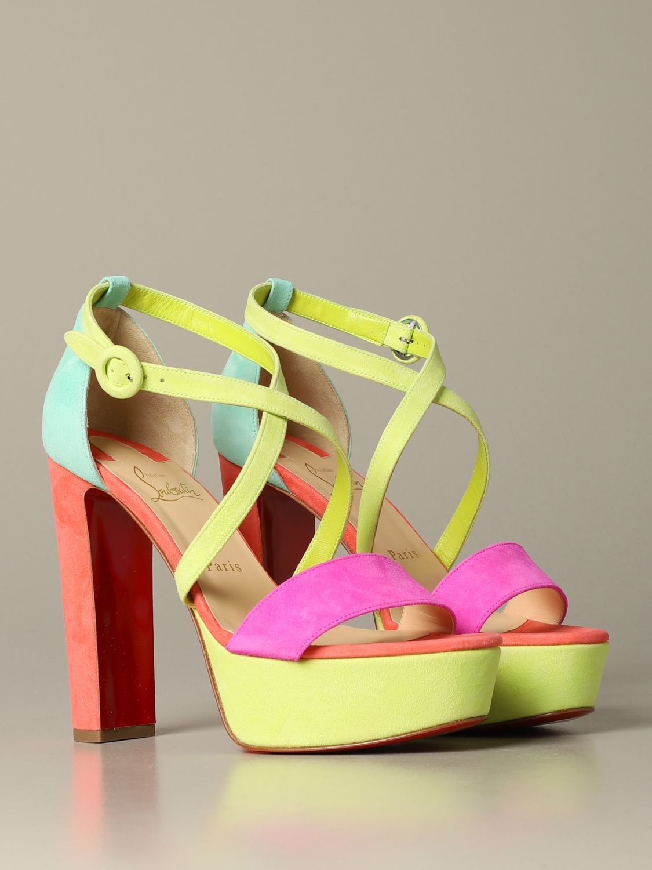 鞋 女士 Christian Louboutin 粉色 2
