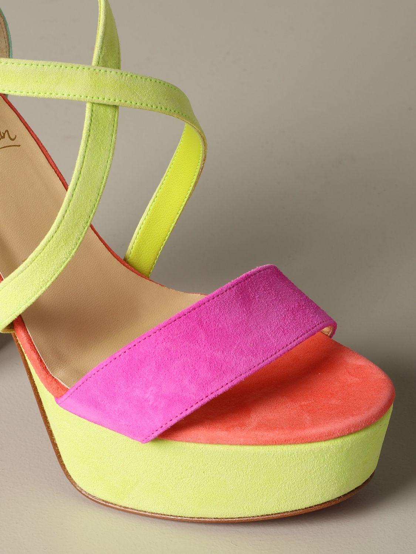 鞋 女士 Christian Louboutin 粉色 3