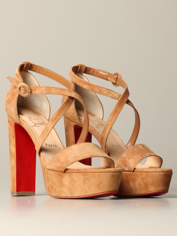鞋 女士 Christian Louboutin 米色 2