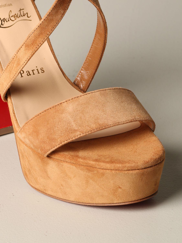 鞋 女士 Christian Louboutin 米色 3