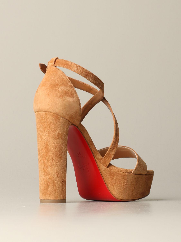 鞋 女士 Christian Louboutin 米色 4