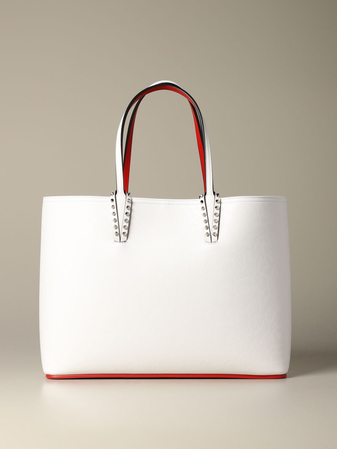 Shoulder bag women Christian Louboutin white 1
