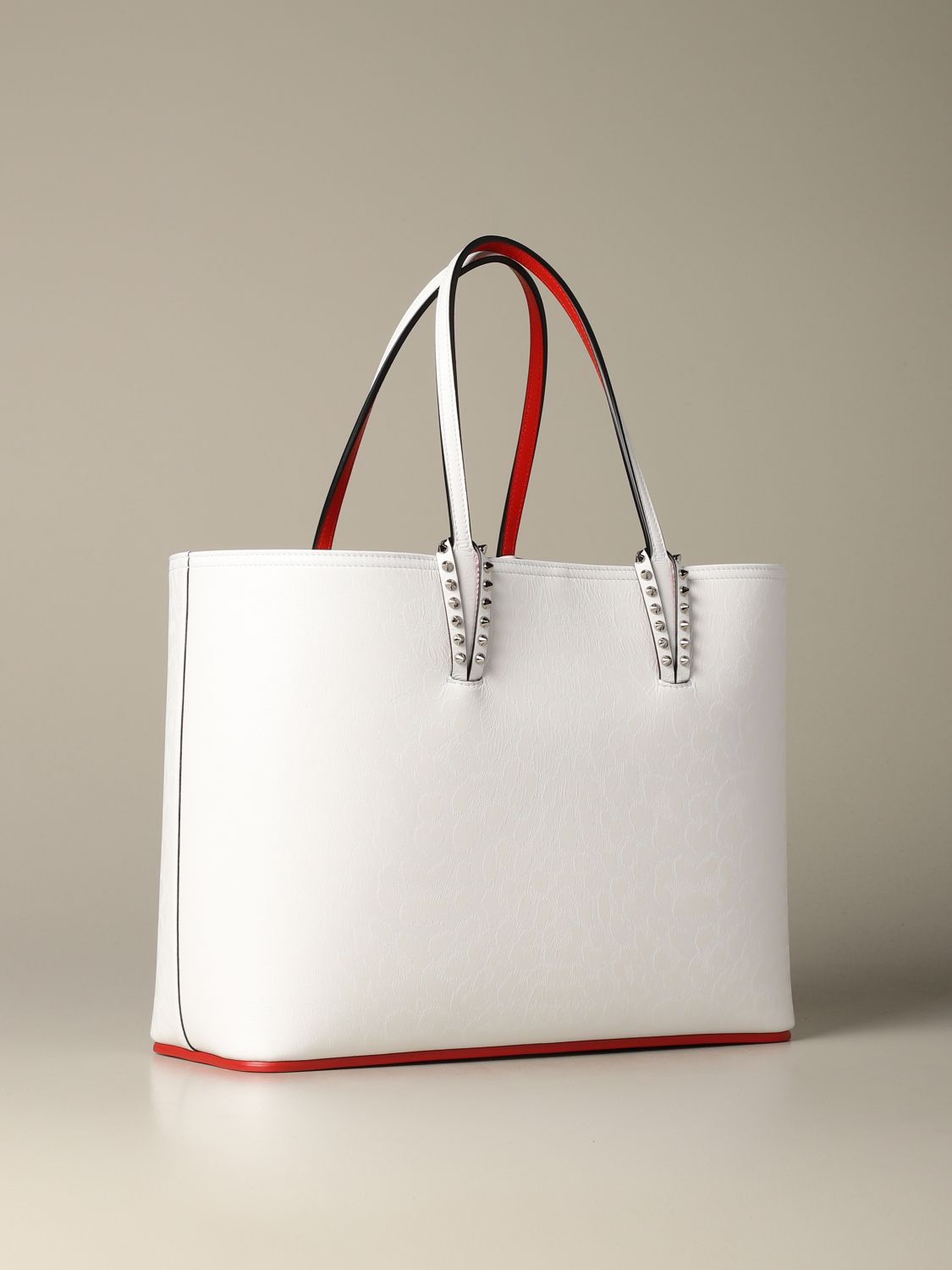 Shoulder bag women Christian Louboutin white 2