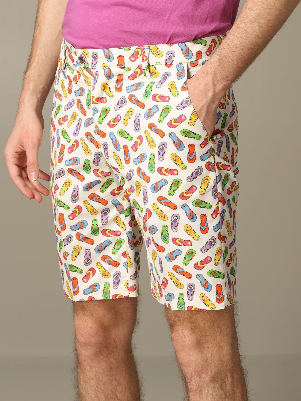 Short Baronio: Bermuda shorts men Baronio white 3