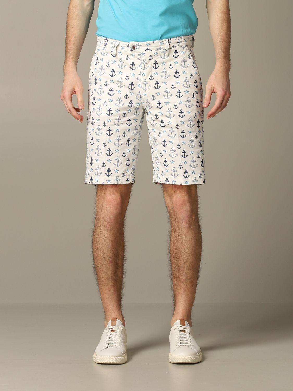 Short Baronio: Bermuda shorts men Baronio white 1