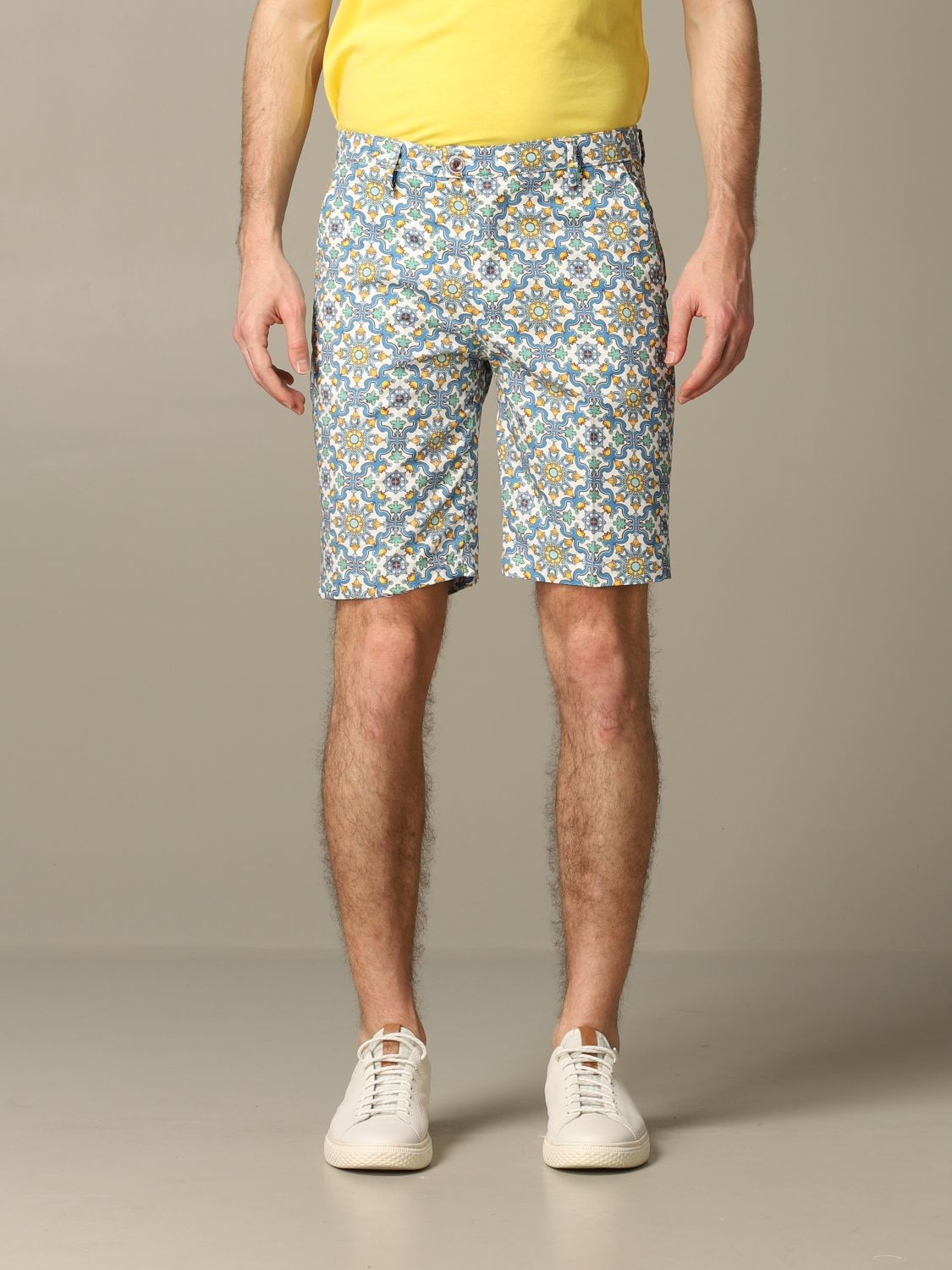 Short Baronio: Bermuda shorts men Baronio multicolor 1