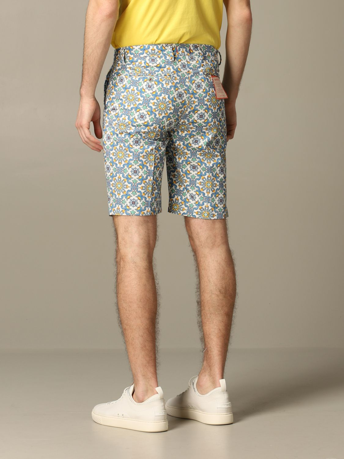 Short Baronio: Bermuda shorts men Baronio multicolor 2