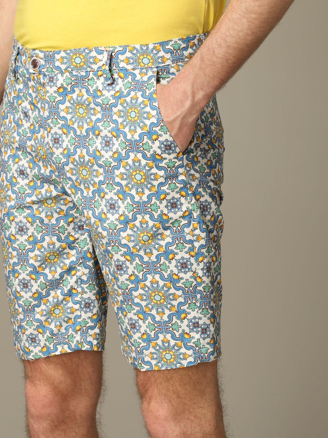 Short Baronio: Bermuda shorts men Baronio multicolor 3