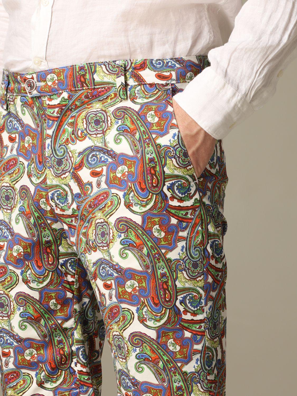 Short Baronio: Bermuda shorts men Baronio multicolor 3