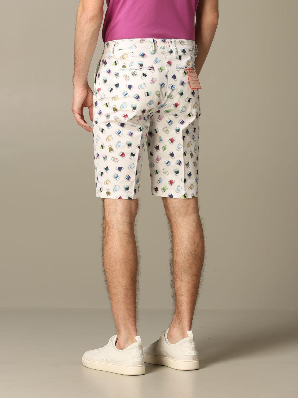 Short Baronio: Bermuda shorts men Baronio white 2