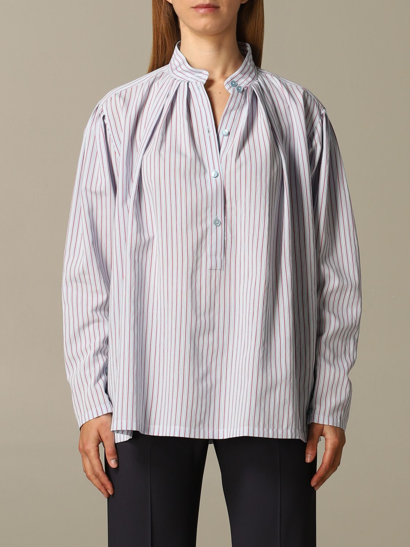 Camisa Alberta Ferretti: Camisa mujer Alberta Ferretti azul claro 1