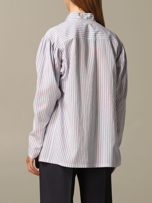 Camisa Alberta Ferretti: Camisa mujer Alberta Ferretti azul claro 2