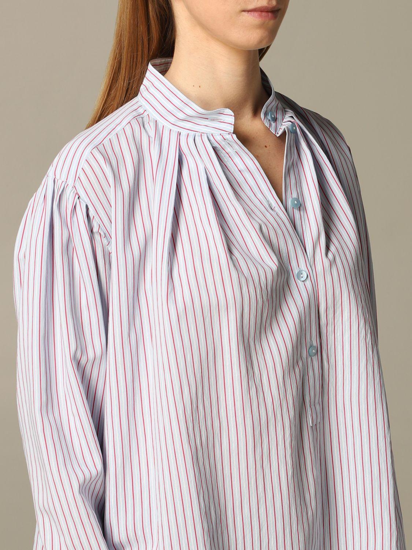 Camisa Alberta Ferretti: Camisa mujer Alberta Ferretti azul claro 3