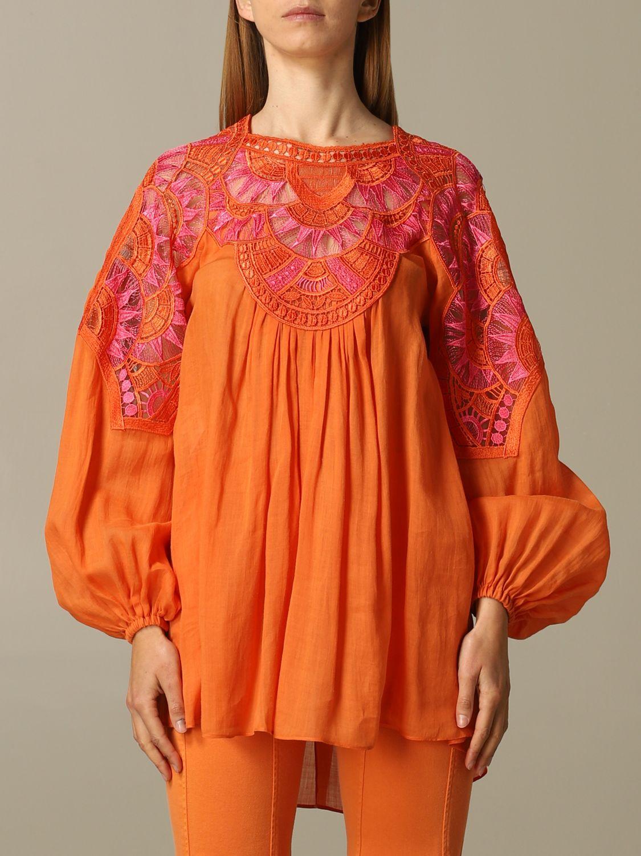 Dress Alberta Ferretti: Dress women Alberta Ferretti orange 1