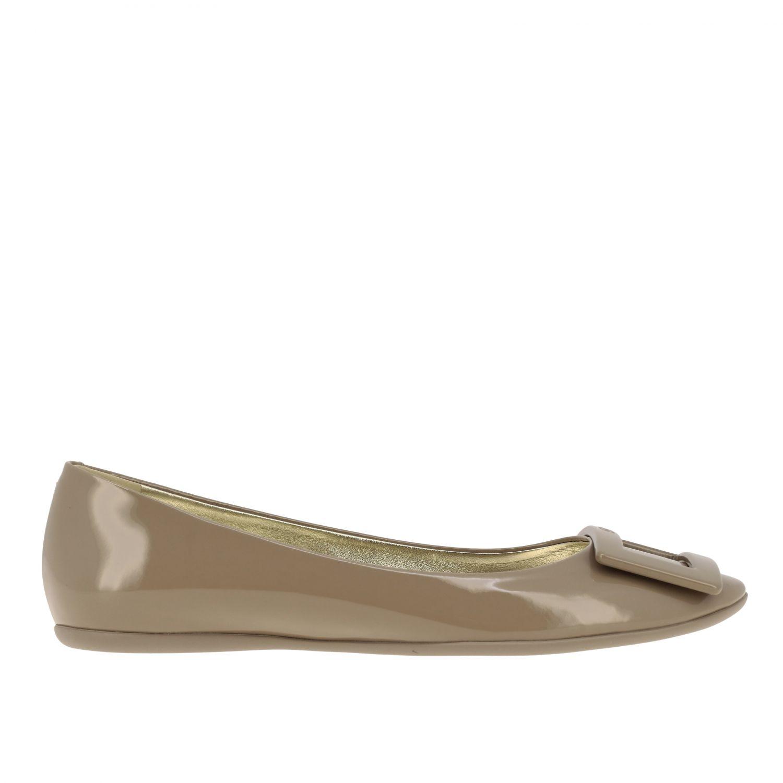 Shoes women Roger Vivier dove grey 1