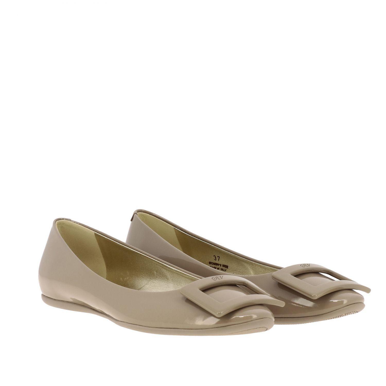 Shoes women Roger Vivier dove grey 2
