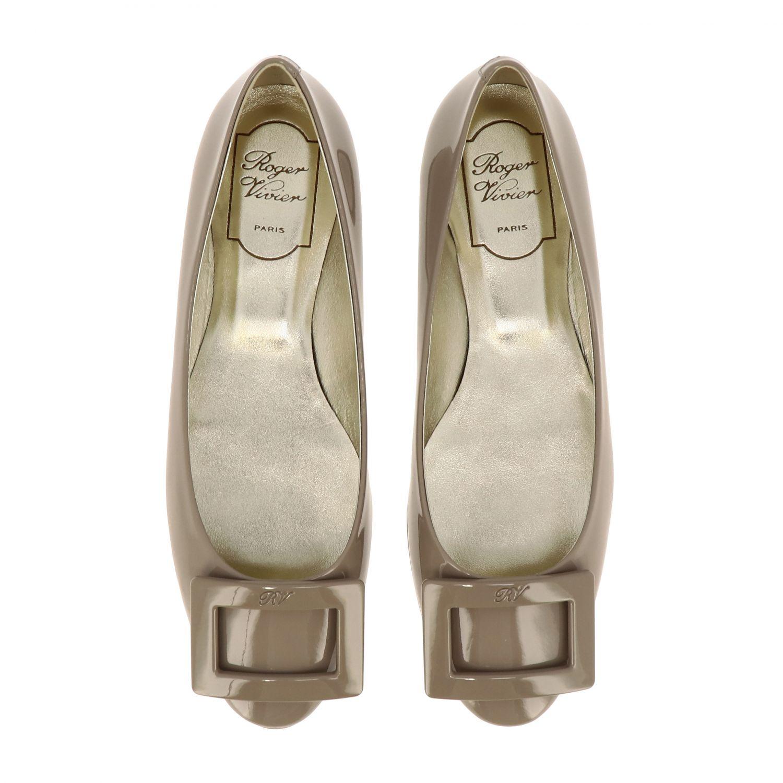Shoes women Roger Vivier dove grey 3