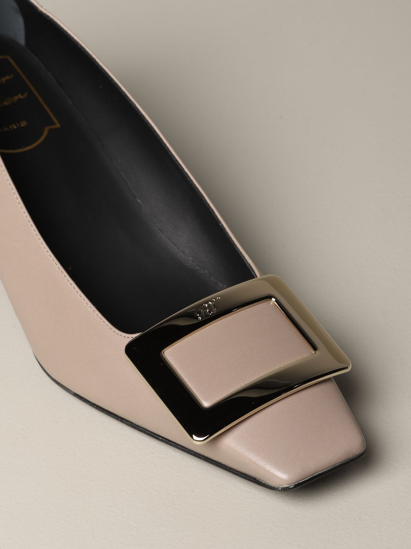 Shoes women Roger Vivier beige 3