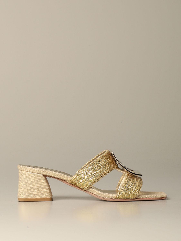 High Heel Shoes Roger Vivier Women Gold