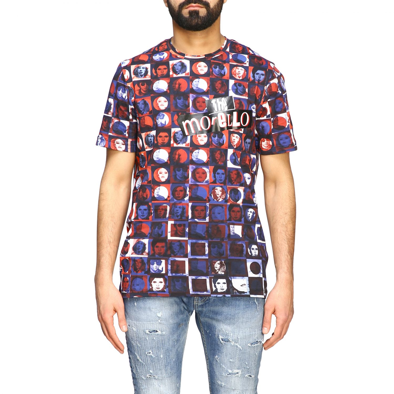 T-shirt homme Frankie Morello bleu 1
