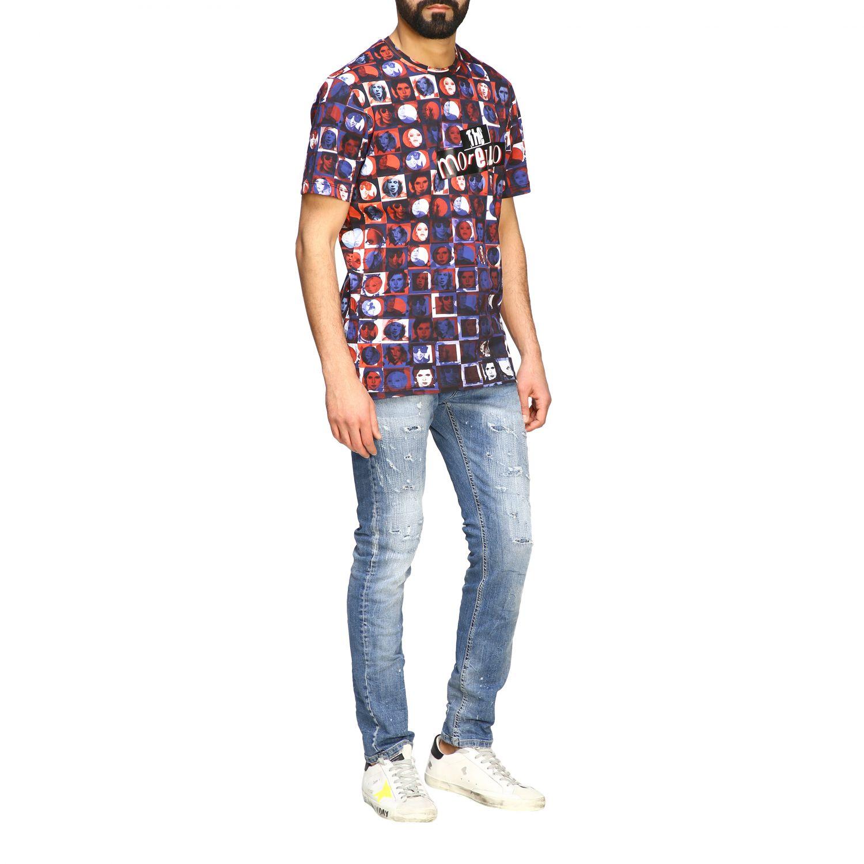T-shirt homme Frankie Morello bleu 2
