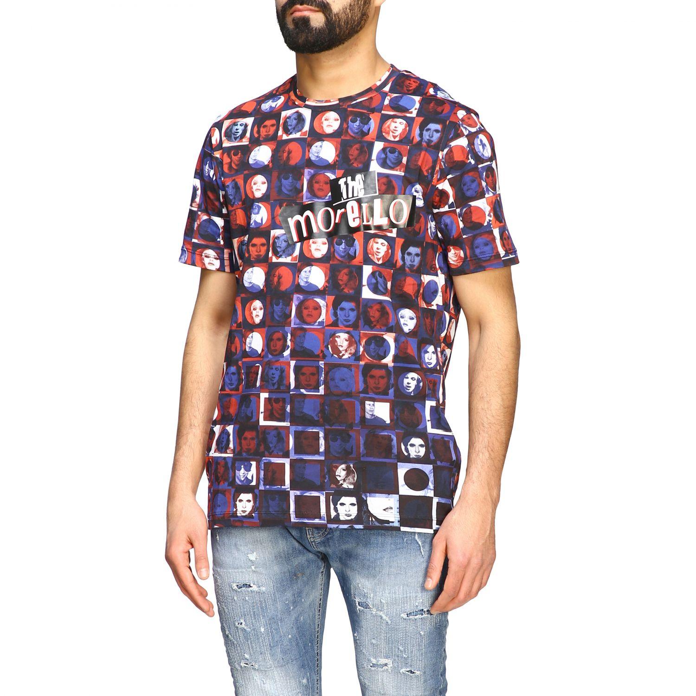 T-shirt homme Frankie Morello bleu 4