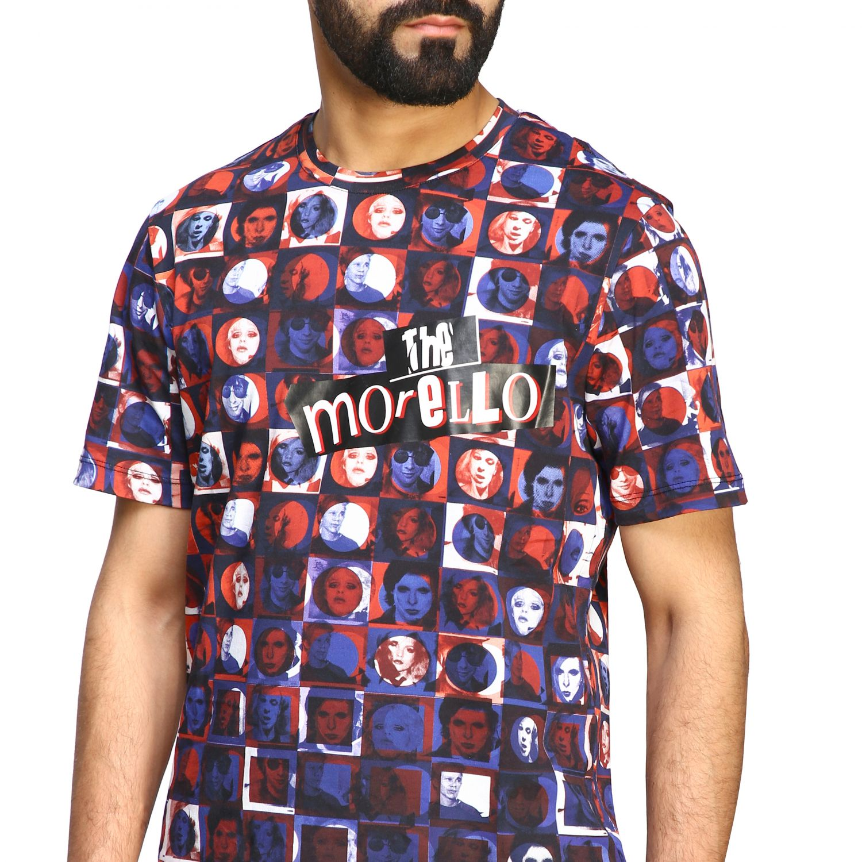 T-shirt homme Frankie Morello bleu 5