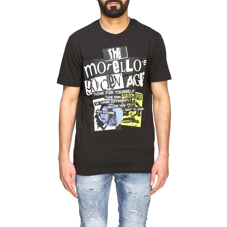 Camiseta hombre Frankie Morello negro 1