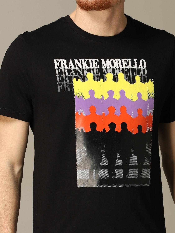 Camiseta hombre Frankie Morello negro 3