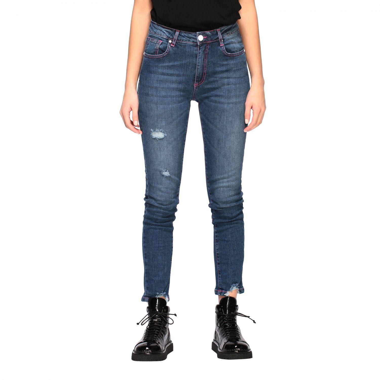 Jeans mujer Frankie Morello denim 1