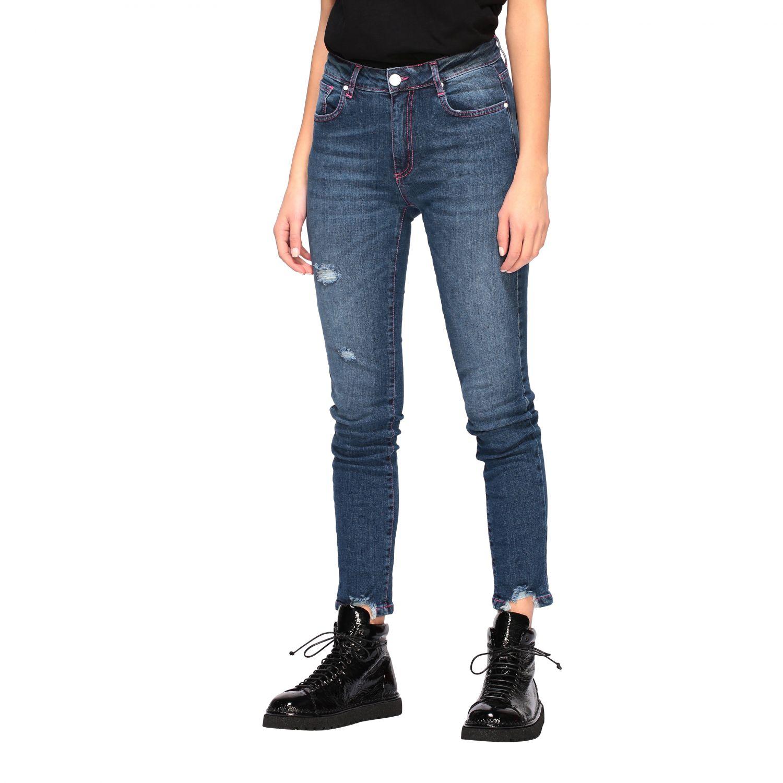 Jeans mujer Frankie Morello denim 4