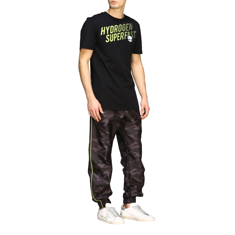 Camiseta hombre Hydrogen negro 2