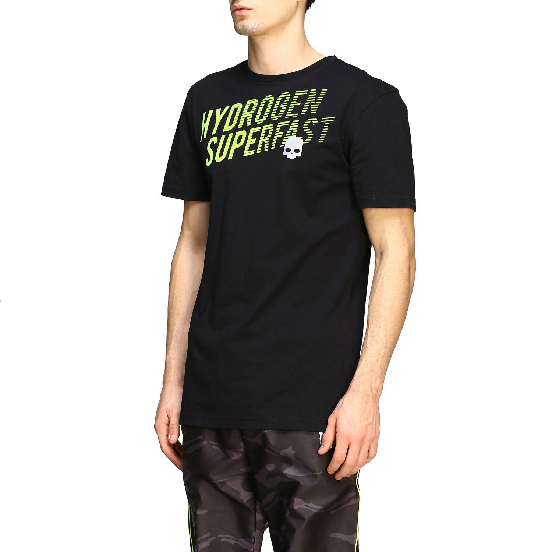 Camiseta hombre Hydrogen negro 4