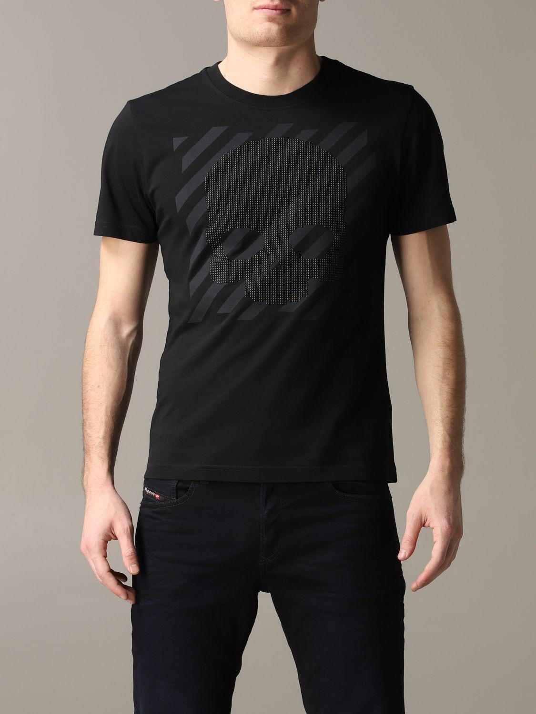 Camiseta hombre Hydrogen negro 1