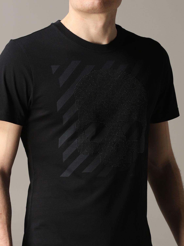 Camiseta hombre Hydrogen negro 5