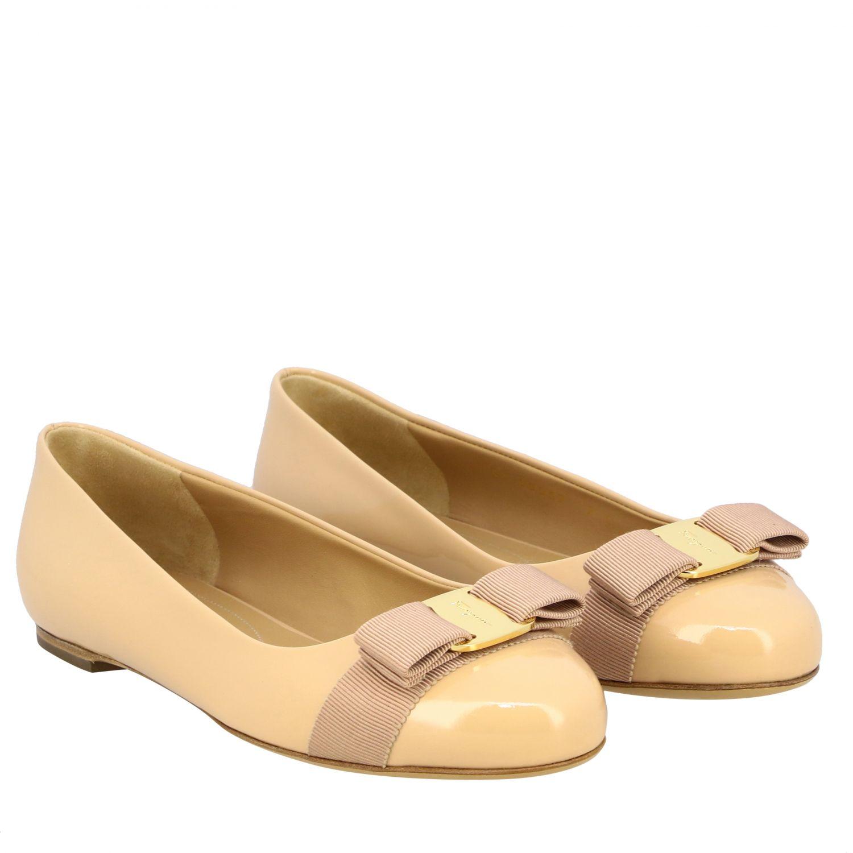 Manoletinas Salvatore Ferragamo: Zapatos mujer Salvatore Ferragamo nudo 2