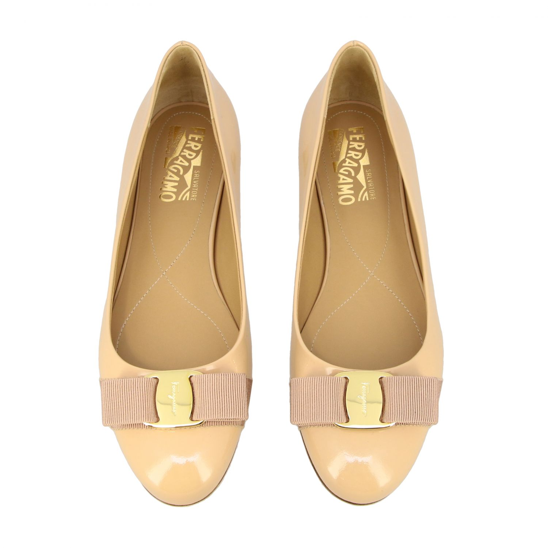 Manoletinas Salvatore Ferragamo: Zapatos mujer Salvatore Ferragamo nudo 3