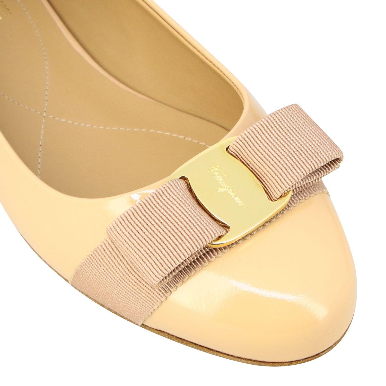 Manoletinas Salvatore Ferragamo: Zapatos mujer Salvatore Ferragamo nudo 4