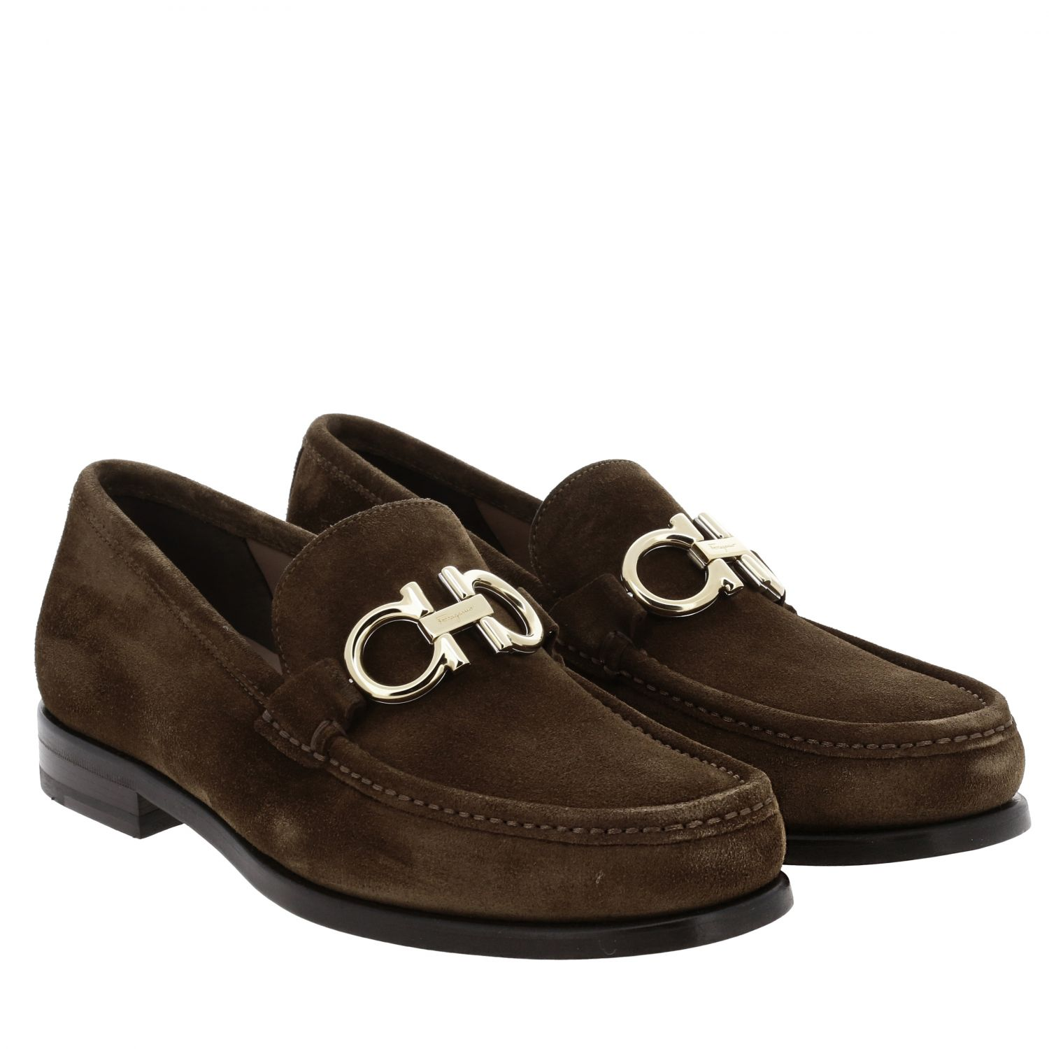 Shoes men Salvatore Ferragamo brown 2