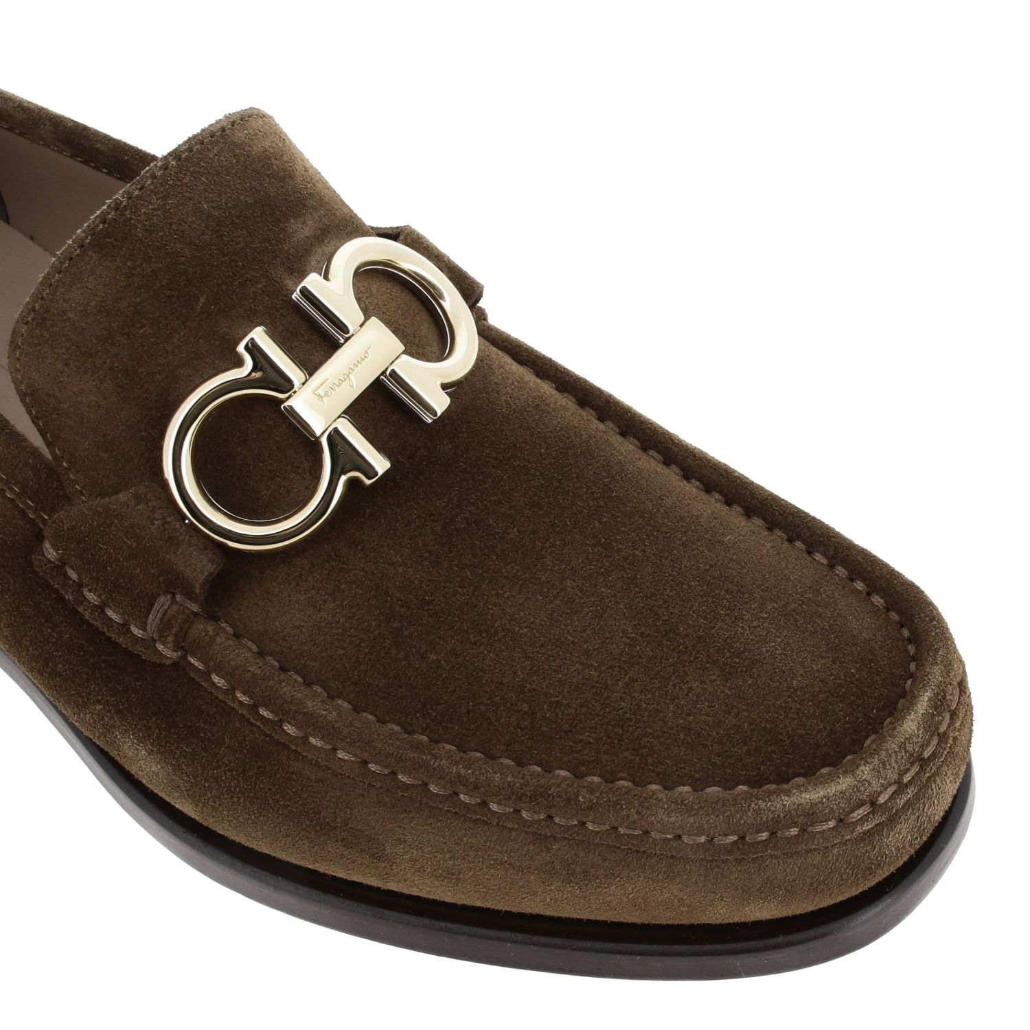Shoes men Salvatore Ferragamo brown 4