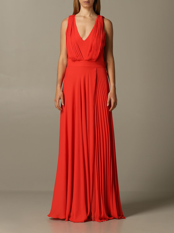 Kleid Hanita: Kleid damen Hanita korall 1