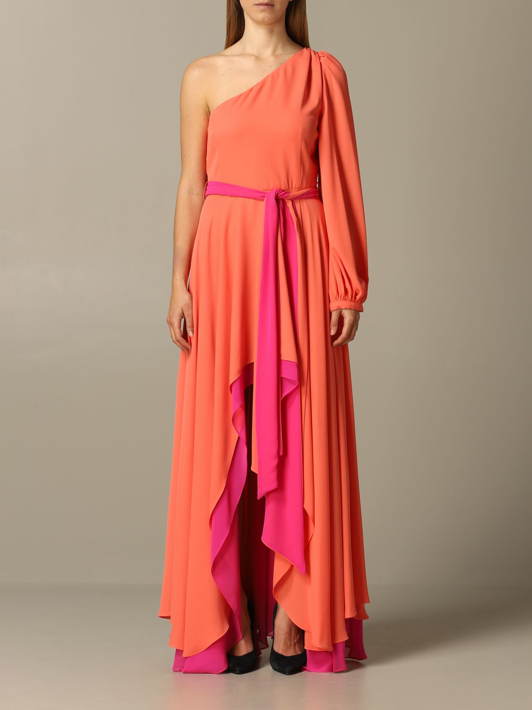 Dress Hanita: Dress women Hanita coral 1