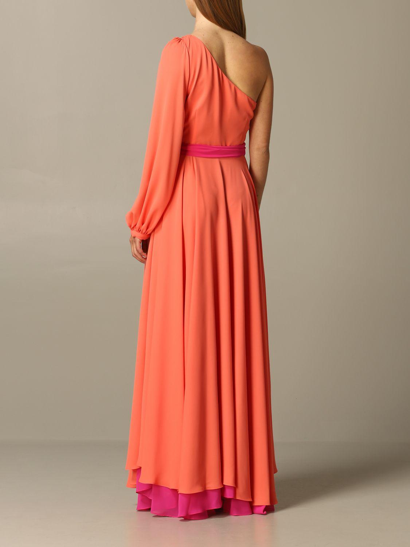 Dress Hanita: Dress women Hanita coral 2