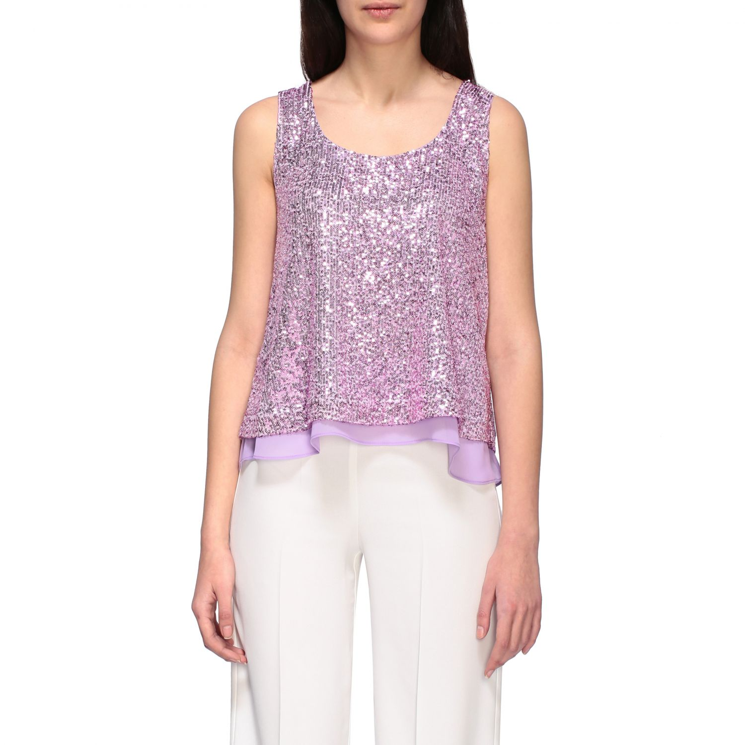 Top women H Couture lilac 1