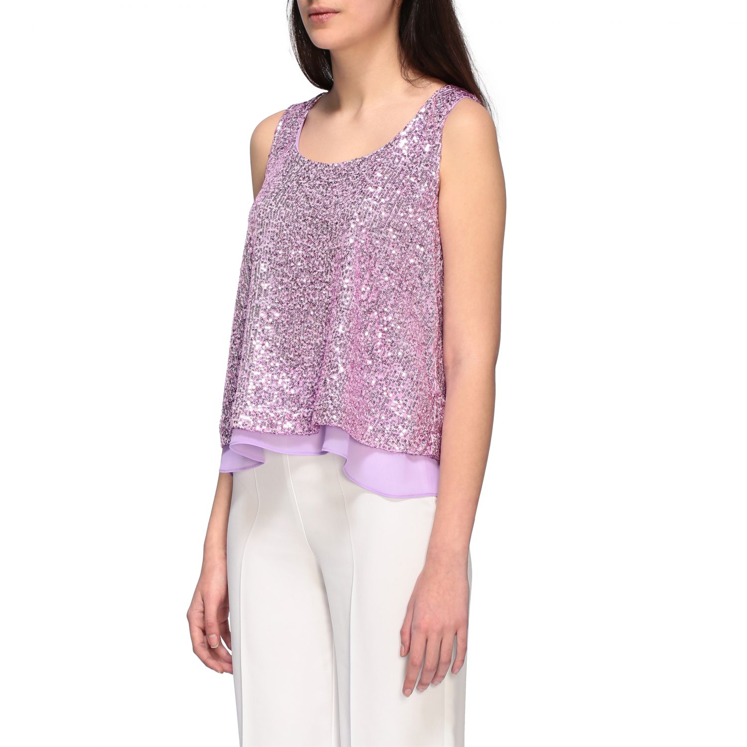 Top women H Couture lilac 4
