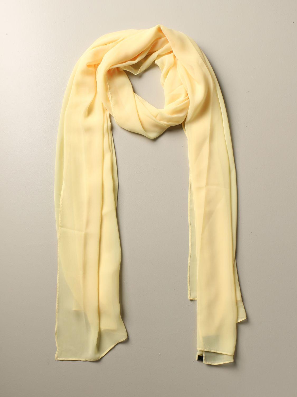 Seidentuch H Couture: Seidentuch damen H Couture gelb 2