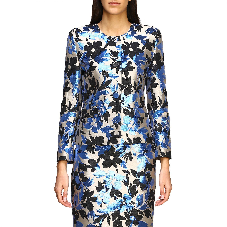 Suit Boutique Moschino: Blazer women Boutique Moschino blue 1